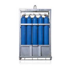 S1-1-KS16 16集装格氧气 40L 135bar