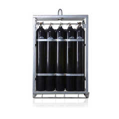 5074-141-KS15 热处理气5%H2+95%N2 50L 200BAR 15集装格(含压力表)